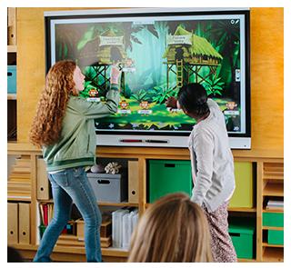 Tecnología educativa, Pizarrón interactivo, Aulas interactivas